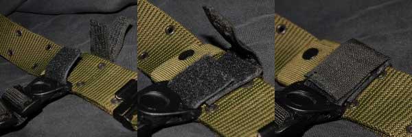 =Holster CQC Blackhawk + adaptateur Strike + QDS= Ceint123