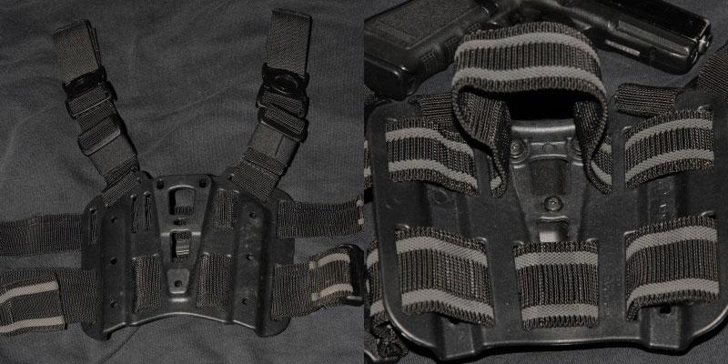 =Holster CQC Blackhawk + adaptateur Strike + QDS= Plateforme